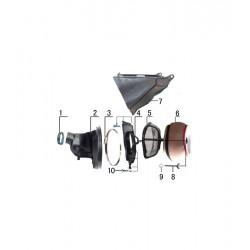 Caja filtro aire - XC 230 /...