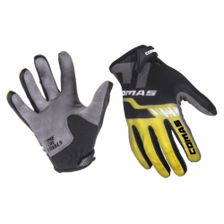 COMAS Race Gloves Yellow