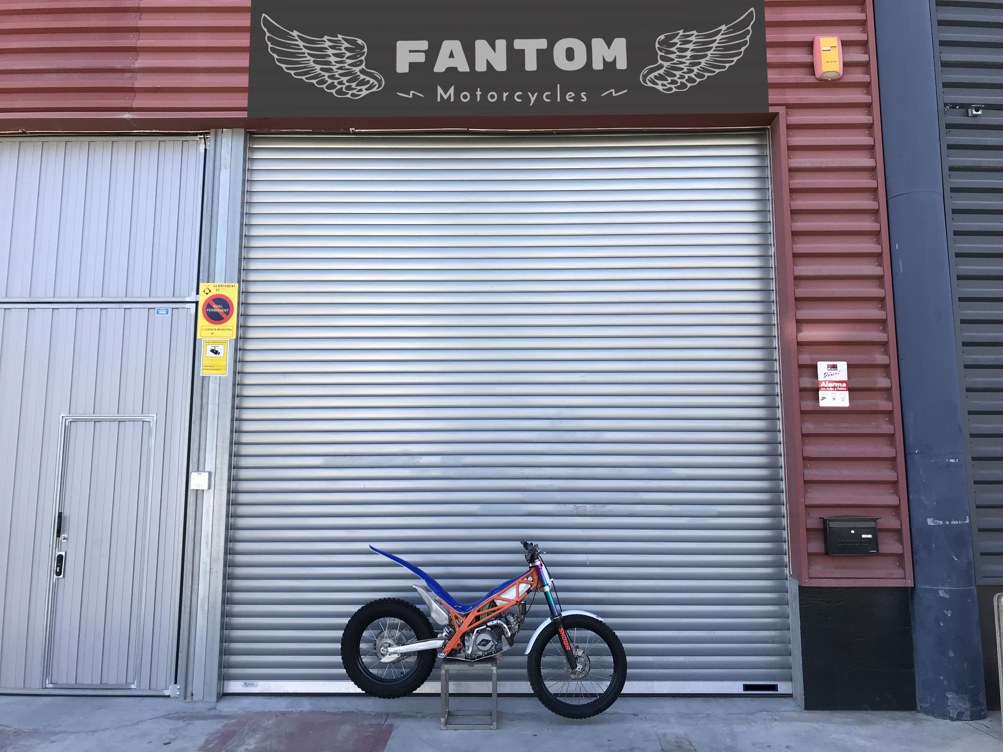 Fantom Motorcycles factory