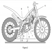 Technical drawing of our #patent ® . Dibujo técnico de nuestra #patente ® . #designedinbarcelona #prototype #madeincatalonia #trial #startup #xarxaempren #trialsbike #madeinbarcelona #motorcyclecompany  #trials #inventoseureka @inventoseureka